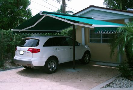 """16' x 8'3"""" Butterfly Awning"""