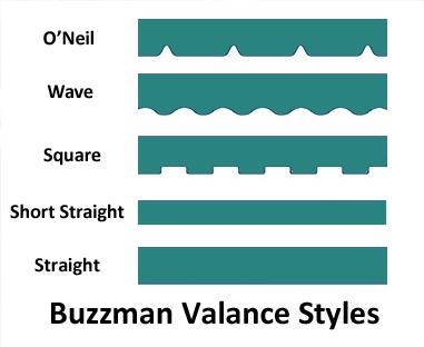 Valance Styles